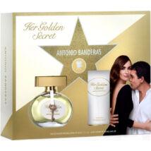 Antonio Banderas Her Golden Secret EDT 50ml + 100ml Testápoló Szett  Hölgyeknek