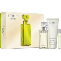 Calvin Klein Eternity EDP 100ml + EDP 10ml + 100ml Testápoló Szett Hölgyeknek
