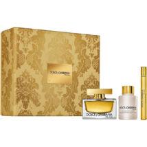 Dolce & Gabbana The One EDP 75ml + EDP 10ml + 100ml Testápoló Szett Hölgyeknek