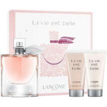 Lancome La Vie Est Belle EDP 75ml + 50ml Tusfürdő + 50ml Testápoló Szett Hölgyeknek