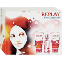 Replay Your Fragrance EDT 20ml + 50ml Tusfürdõ + 50 ml Testápoló Hölgyeknek