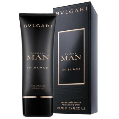 Bvlgari Man in Black After Shave Balzsam 100 ml Férfi Parfüm