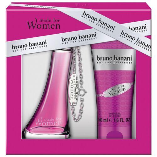 Bruno Banani Made for Women EDT 20 ml + Testápoló 50ml Szett Hölgyeknek
