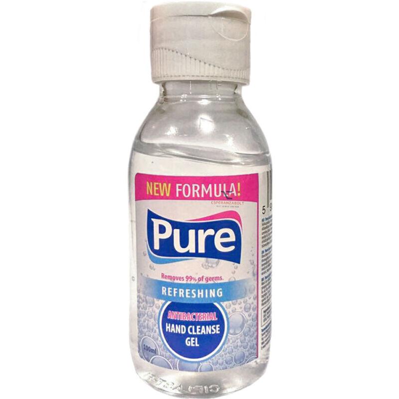 Pure Antibakteriális kézfertőtlenítő gél 100ml