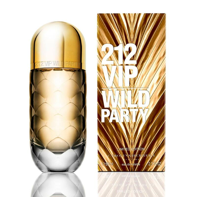 Carolina Herrera 212 VIP Wild Party Eau de Toilette Högyeknek