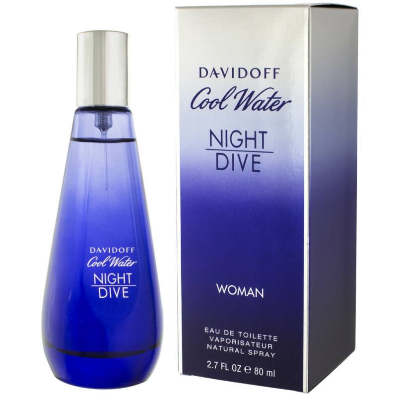 Davidoff Cool Water Night Dive EDT 80ml Hölgyeknek