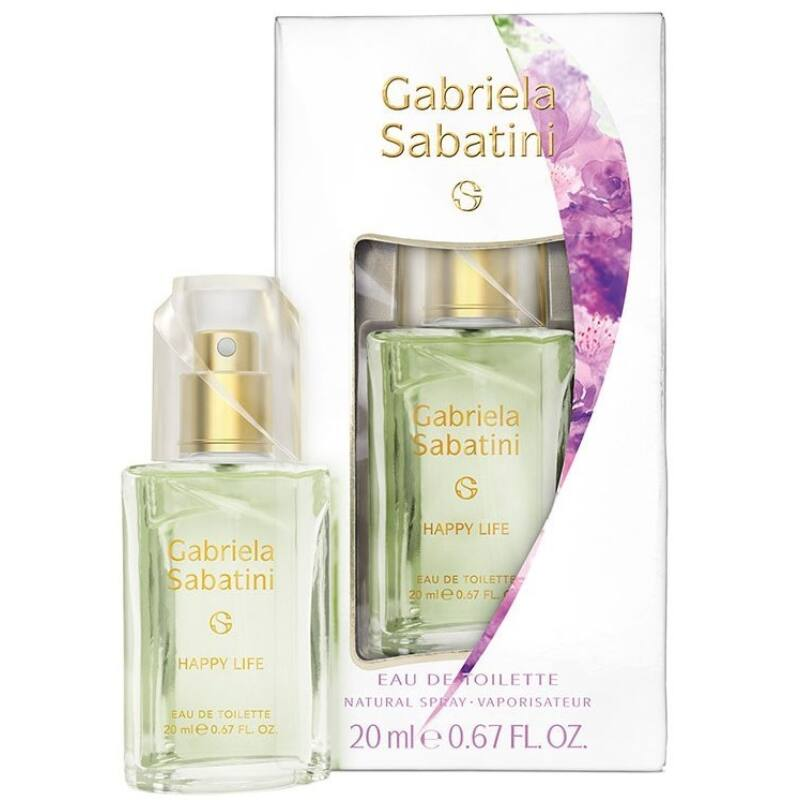 Gabriela Sabatini Happy Life EDT 20 ml Hölgyeknek