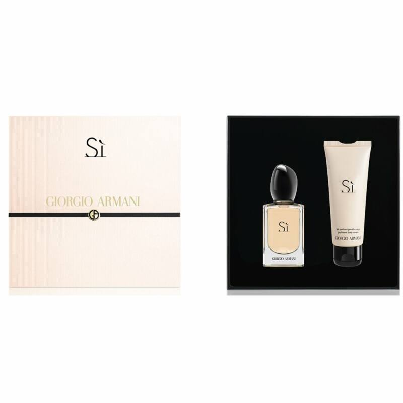 Giorgio Armani Sí EDP 100 ml + Testápoló 75ml Női Parfüm Ajándékcsomag