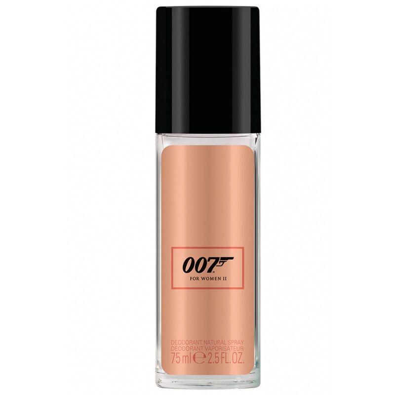 James Bond James Bond 007 II. Natural Spray Deo 75ml Hölgyeknek
