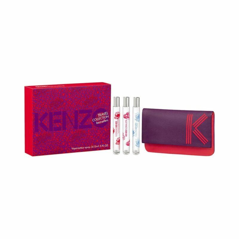 Kenzo Best-Sellers Travel Collection 3X15ml Hölgyeknek