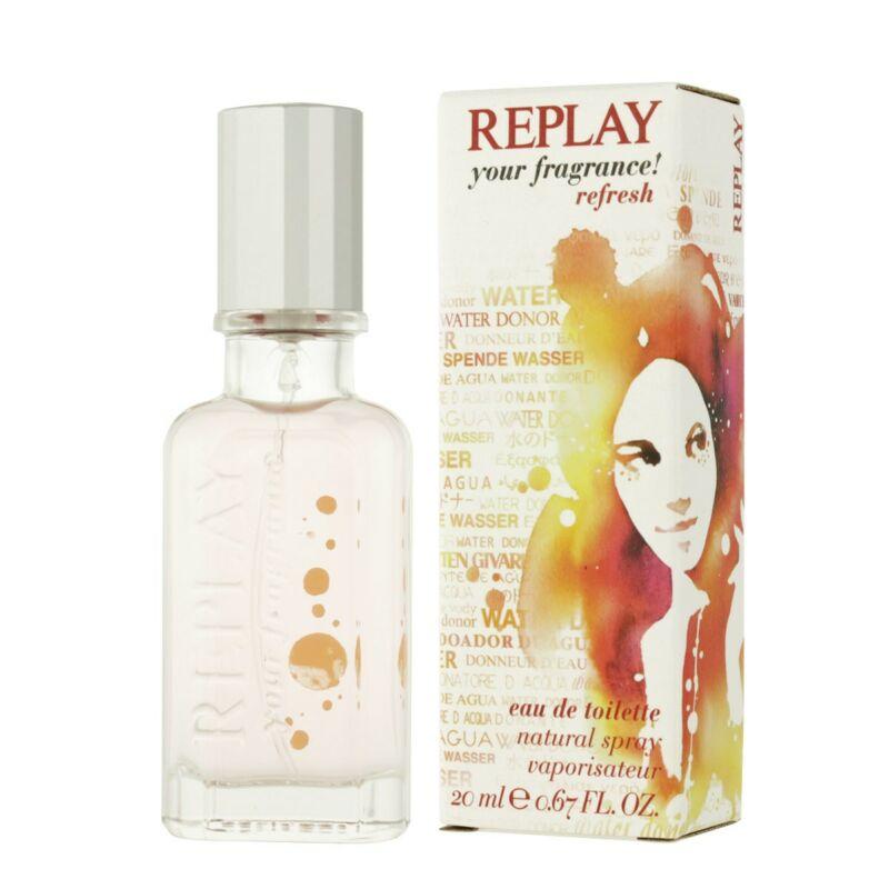 Replay Your Fragrance Refresh EDT 20 ml Hölgyeknek