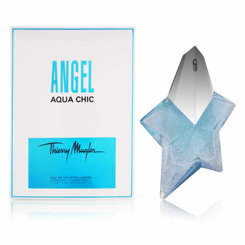 Thierry Mugler Angel Aqua Chic EDT 50 ml Hölgyeknek