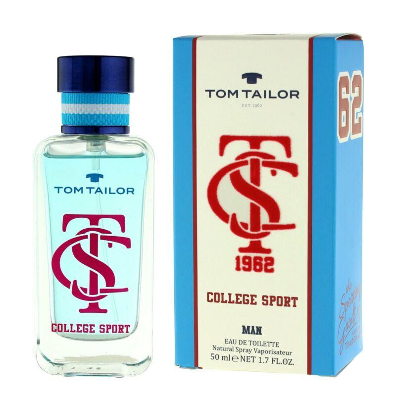 Tom Tailor College Sport Eau de Toilette Férfi Parfüm