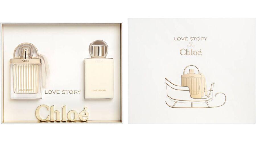Chloé Love Story EDP 50ml + 75ml Testápoló Szett Hölgyeknek - Parfüm ... 5248756a704